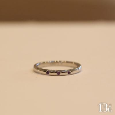 アメジスト指輪