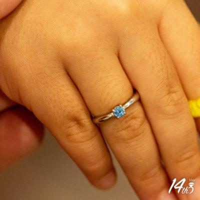 赤ちゃん指輪
