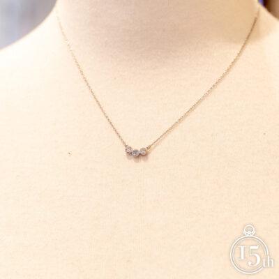 ダイヤモンド アクアマリン ペンダント